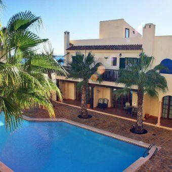 Luxury Apartment ground floor in Villaricos