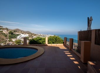 Magnificent Sea View Villa in Mojacar 257.000€