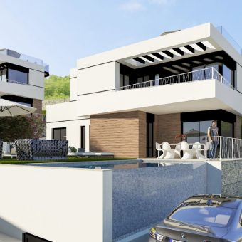 Luxury Villas in Balcón de Finestrat 398,000€